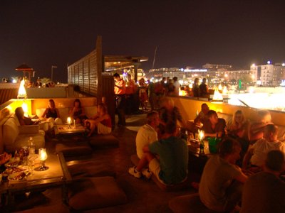 Camel Roof bar for a great atmosphere