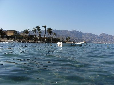 Northern end of Dahab