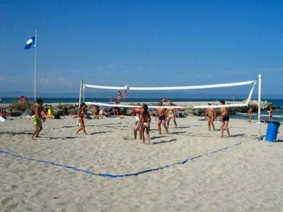 Beach Volleyball on Pomorie Beach